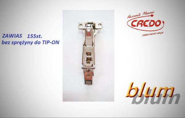 Zawias BLUM – CLIP TOP  155°  Do TIP-ON Bez Sprężyny