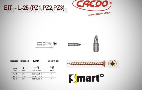 Grot  PZ  1 – 2 – 3   25mm
