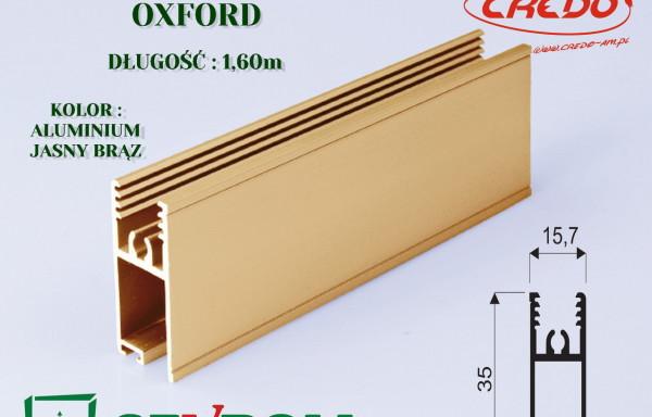 Listwa pozioma system OXFORD