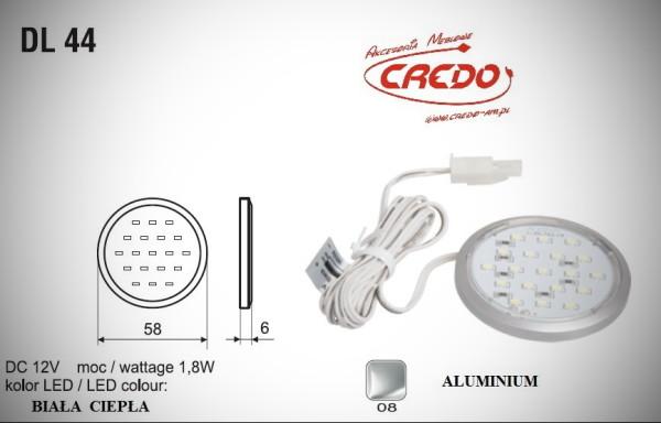 "Lampka LED  ""DL-44""  Biała Ciepła"