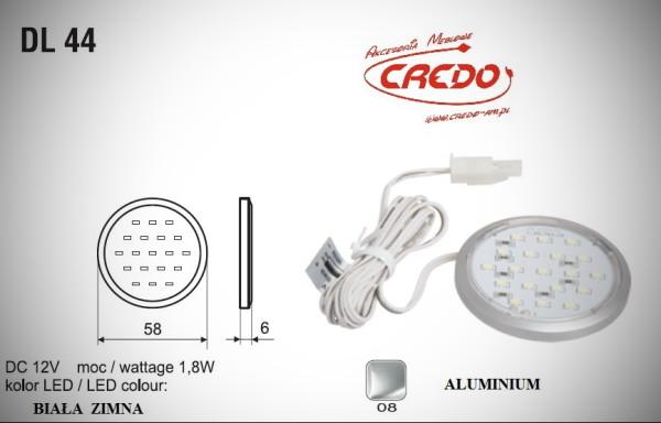 "Lampka LED  ""DL-44""  Biała Zimna"
