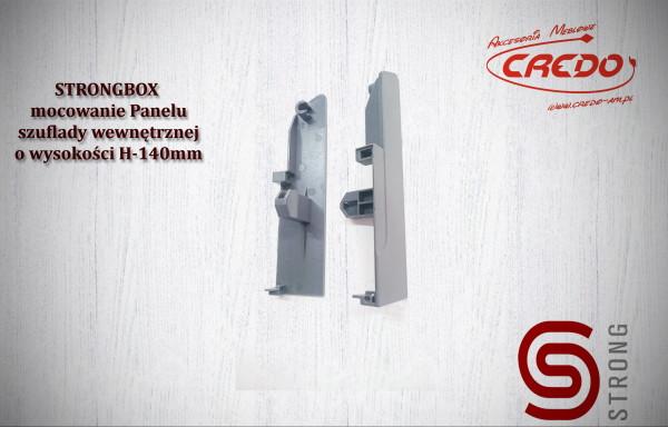 """z/z        STRONGBOX – """"mocowanie""""  frontowego panelu wewnętrznego H-140"""