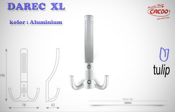 Wieszak meblowy DAREC XL aluminium