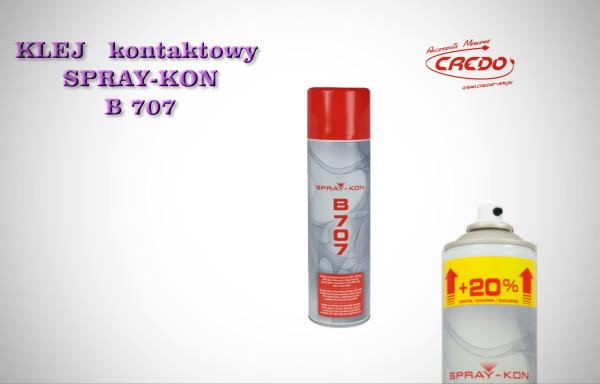 Klej kontaktowy SPRAY-KON  B 707