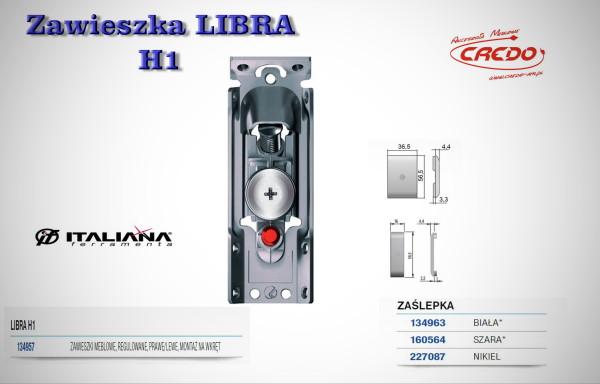 Zawieszka meblowa LIBRA H1