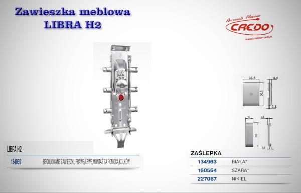 Zawieszka meblowa LIBRA H2